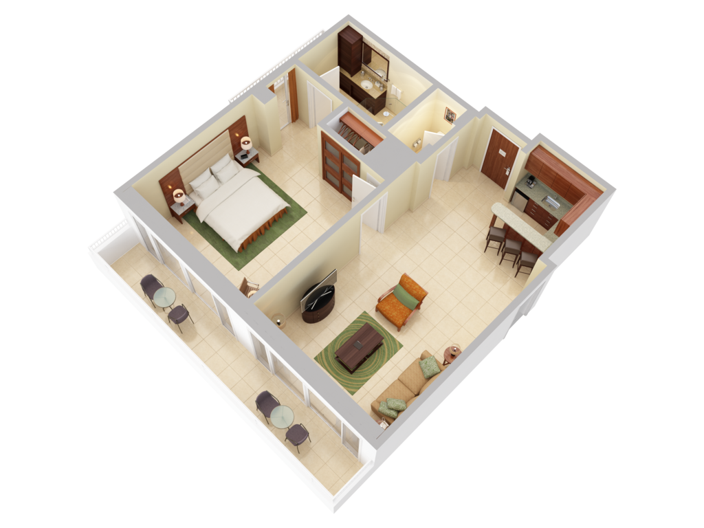 3d floor plans caribe hilton san juan for 3d floor plan online
