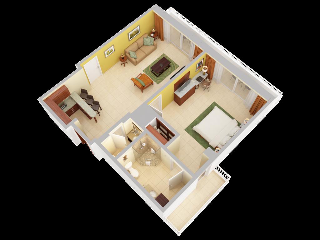 Suites Caribe Hilton San Juan Accommodations