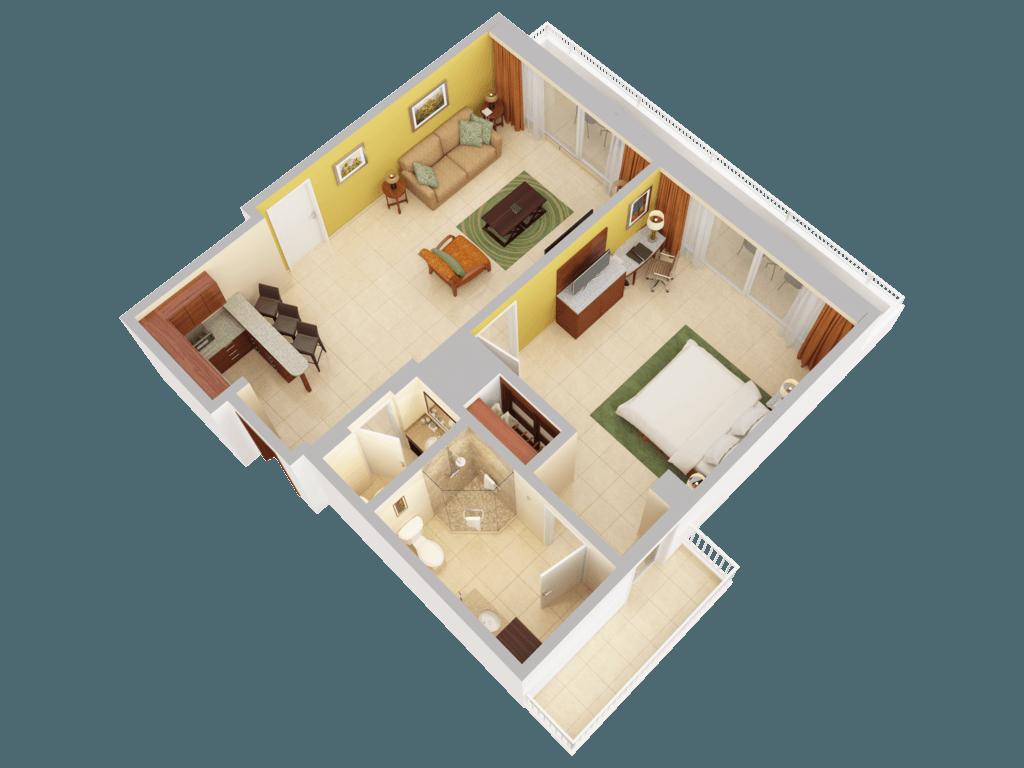 3d Floor Plans Caribe Hilton San Juan