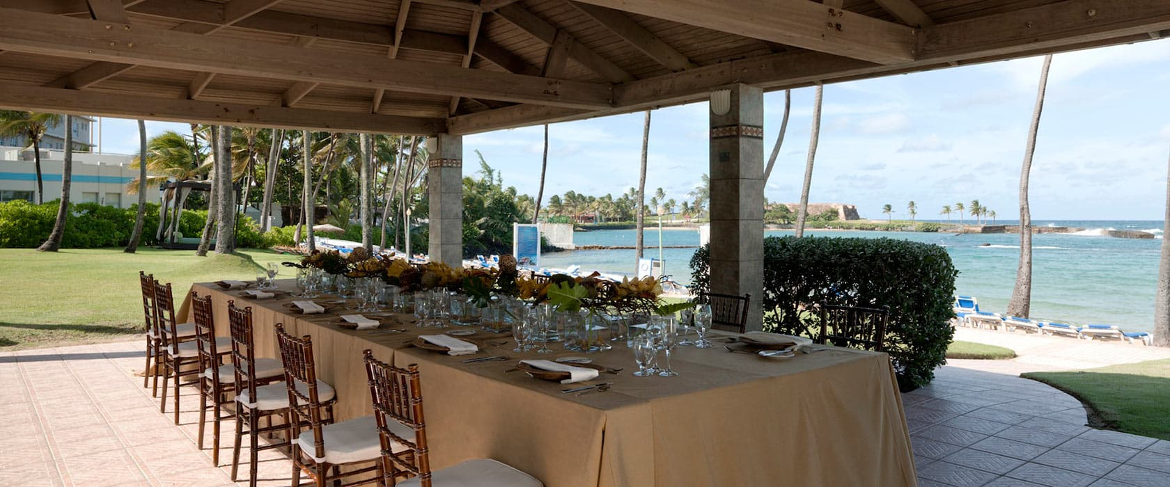 Hilton Caribbean Weddings: Condado Lagoon Villas, San Juan, Puerto Rico