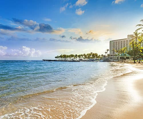 Resort Map Caribe Hilton San Juan