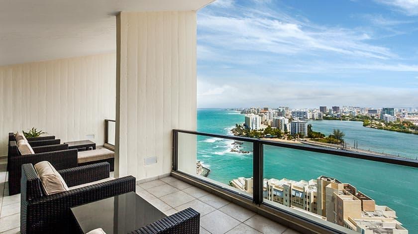 Caribe hilton in puerto rico myvacationpages for 2 bedroom suites san juan puerto rico