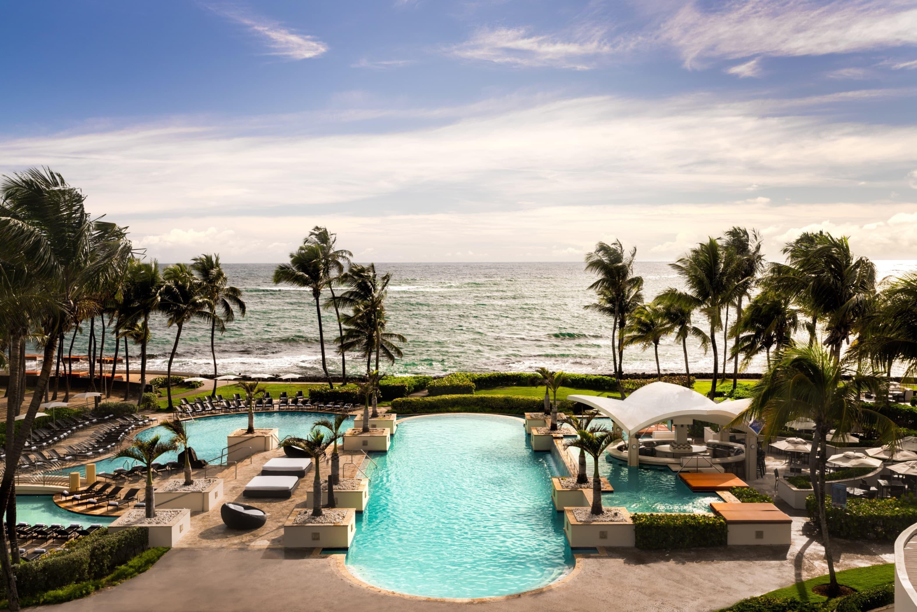 Caribe Hilton Pool