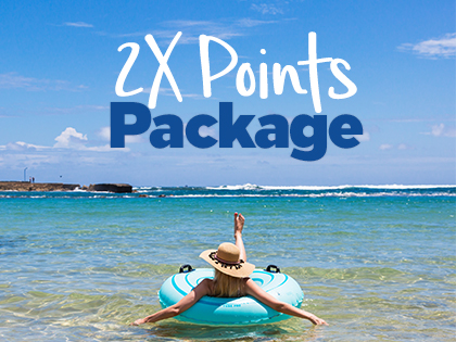 2X Honors Points Package